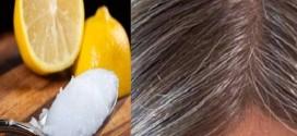 أسرع وصفة للتخلص من الشعر الأبيض في المنزل