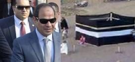 """السيسي يفتتح كعبة للحج والعمرة في مصر ويقول """"الفلوس اللي بتروح لغيرنا احنا اولى بيها"""""""
