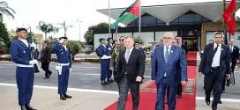 الملك عبد الله الثاني يغادر الرباط في ختام زيارة رسمية للمملكة المغربية