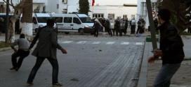 انزلاقات الحسيمة ، إصابات خطيرة في صفوف الشرطة والقوات المساعدة