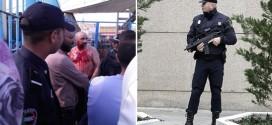 مواطن مغربي يذبح نفسه بمعبر باب سبتة احتجاجا على منعه من دخول المدينة المحتلة من طرف الحرس المدني الاسباني