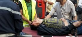 مسيرة الحسيمة.. فتح التحقيق في أسباب إصابة عماد العتابي بجروح غائرة في الرأس