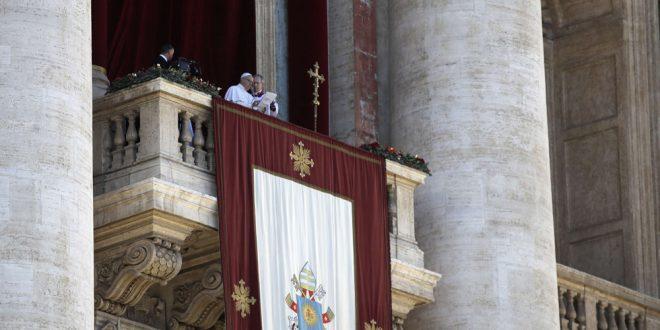 احترام الاختلاف والسلام والتآخي بين الأديان رسالة بابا الفاتيكان إلى العالم